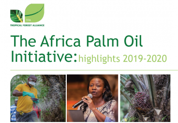 The Africa Palm Oil Initiative: highlights 2019-2020