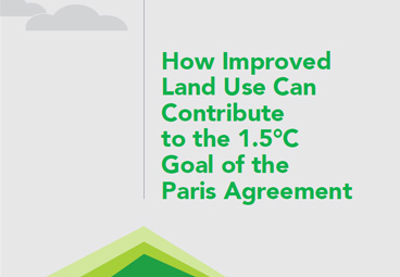 How Improved Land Use Can Contribute to the 1.5C Goal