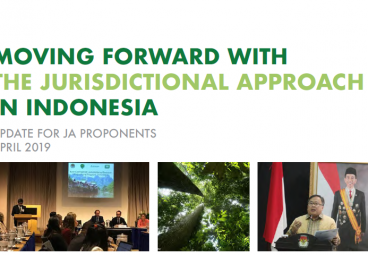 Moving Forward with the Jurisdictional Approach in Indonesia - April 2019 edition