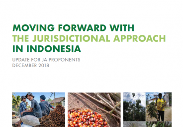 Moving Forward with the Jurisdictional Approach in Indonesia - December 2018 edition