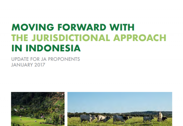 Moving Forward with the Jurisdictional Approach in Indonesia - January 2017 edition