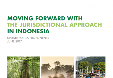Moving Forward with the Jurisdictional Approach in Indonesia - June 2017 edition