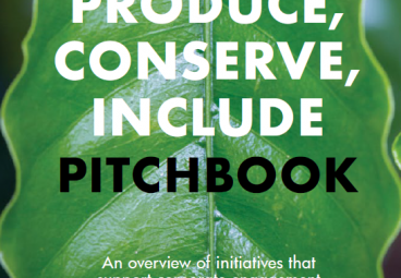 Produce, Conserve, Include Pitchbook: An Overview of Initiatives that Support Corporate Engagement in Mato Grosso, Brazil