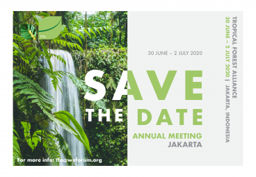 Tropical Forest Alliance Annual Meeting 2020