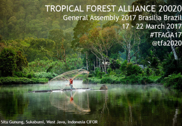 Tropical Forest Alliance Annual Meeting 2017