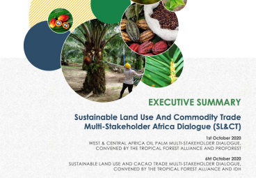 Executive Summary, Sustainable Land Use And Commodity Trade Multi-Stakeholder Africa Dialogue