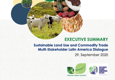 Executive Summary, Sustainable Land-Use and Commodity Trade SE Asia Multi-Stakeholders Dialogue